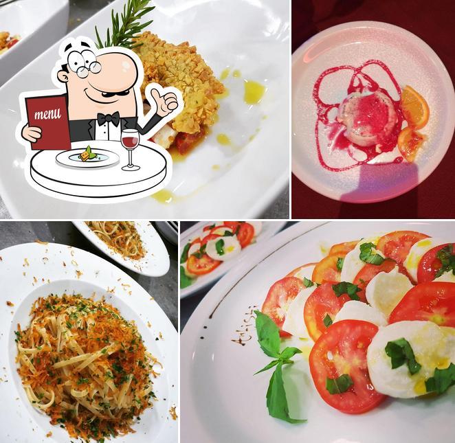 Еда в Ritrovo degli artisti