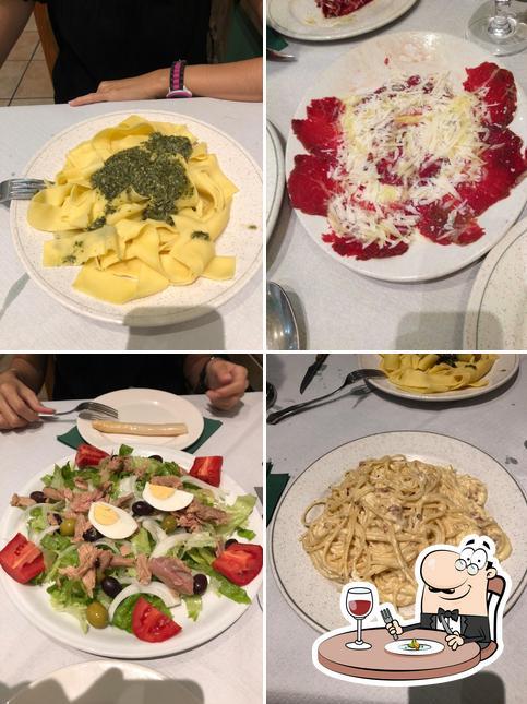 Comida en Salvatore