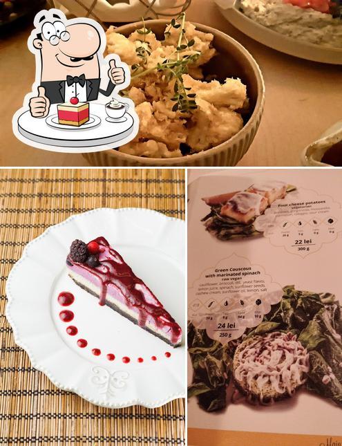 Samsara Foodhouse serviert eine Auswahl von Süßspeisen