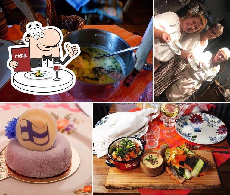 Meals at Savotta
