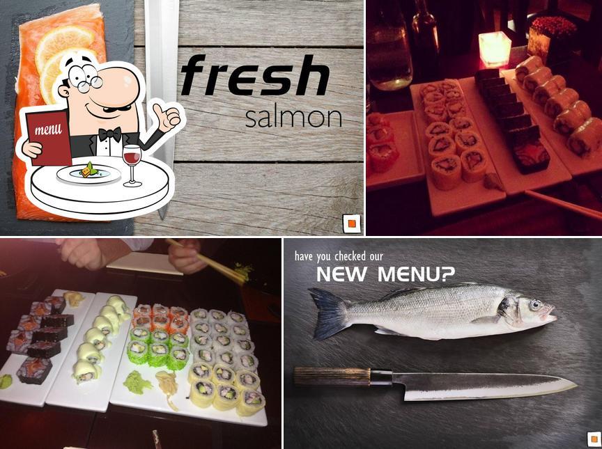 Еда в Square Sushi