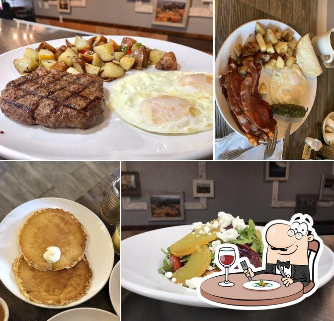 Food at Taste Cafe