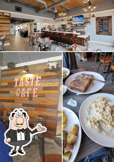 The interior of Taste Cafe
