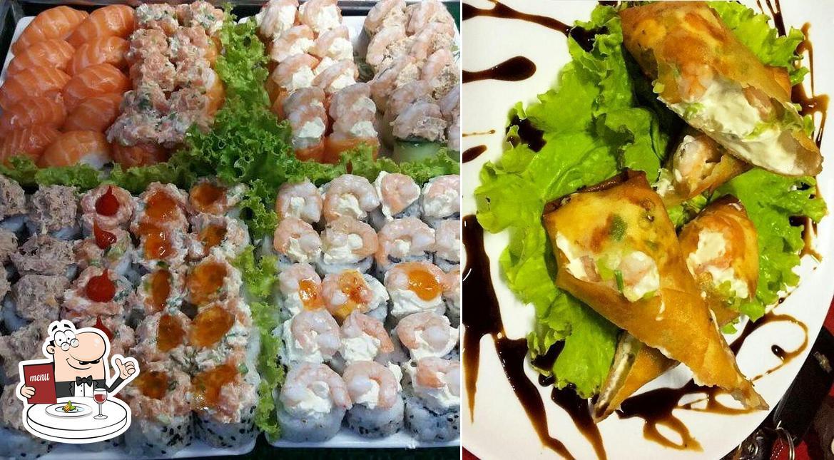 Platos en Yang Sushi Bar