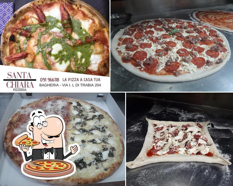 Ordina tra le svariate varianti di pizza