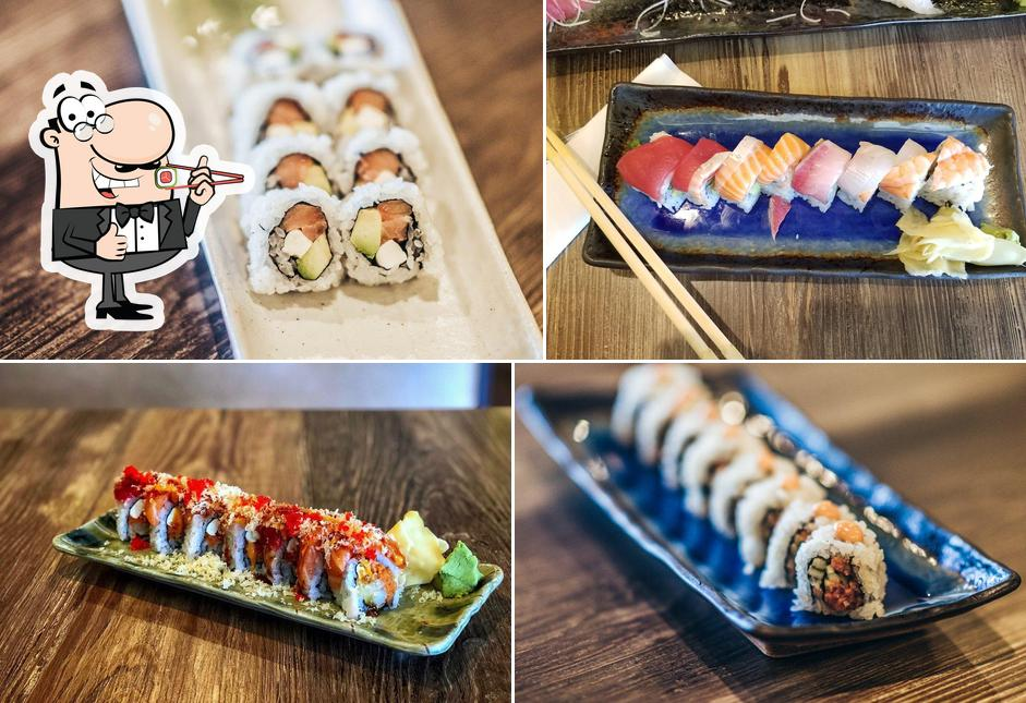 Sushi rolls are available at Somi Sushi