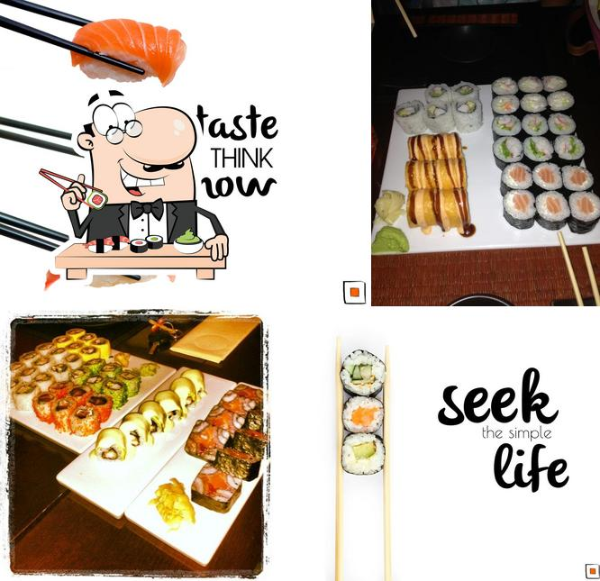 В Square Sushi подают суши и роллы