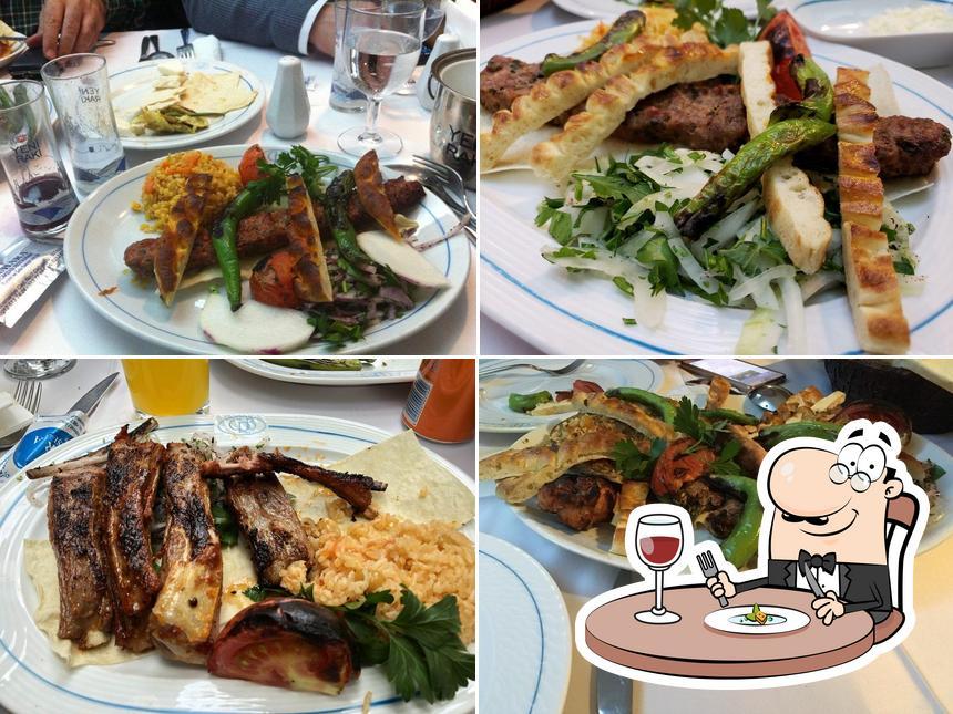 Meals at Buhara Kebab House Restaurant