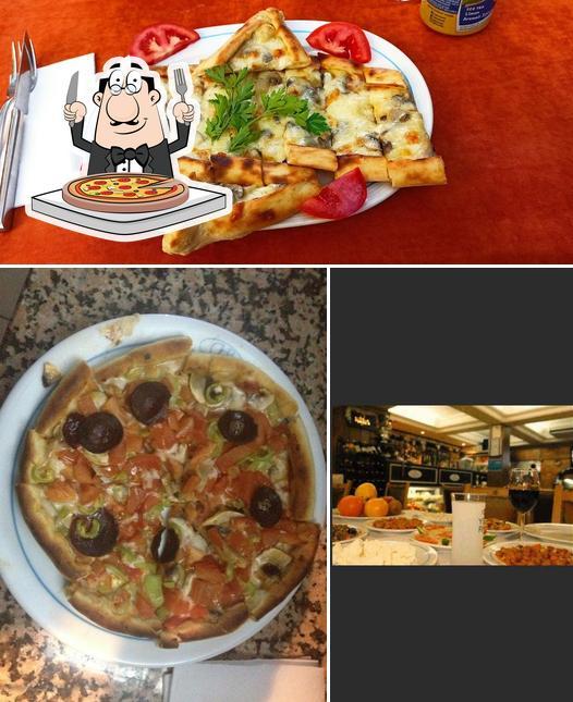 Order pizza at Buhara Kebab House Restaurant