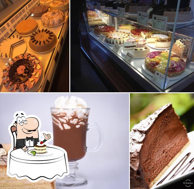 Konditorei Buchwald sert une éventail de desserts