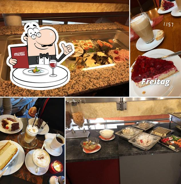 Essen im Cafe Krokant