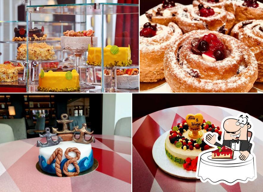 Kuchen Atelier serviert eine Vielfalt von Desserts