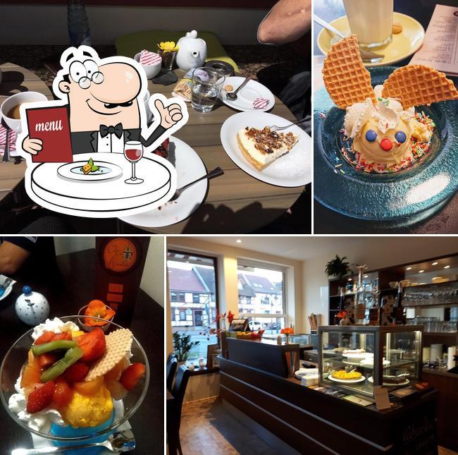 Essen im Café Nikolai