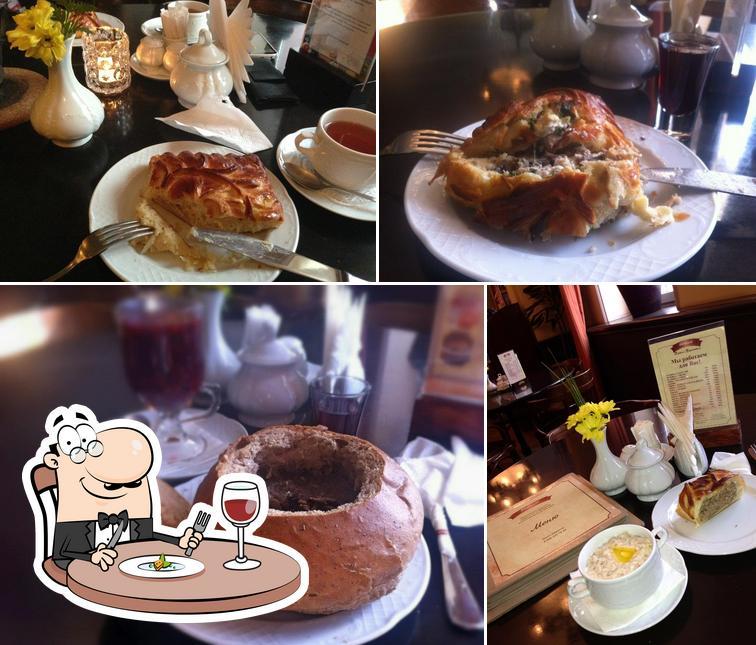 Еда в Штолле
