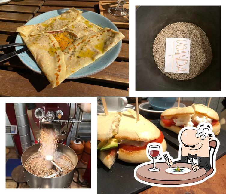 Еда в Santa Canela