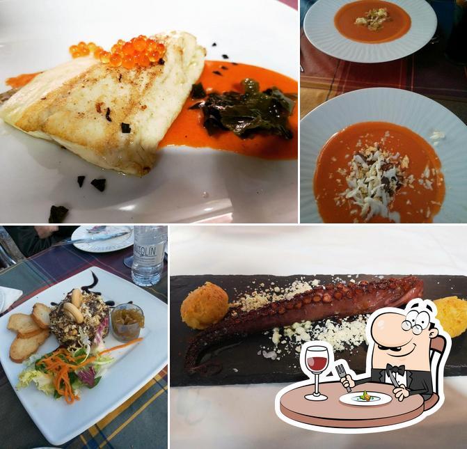 Comida en Restaurante La Almazara