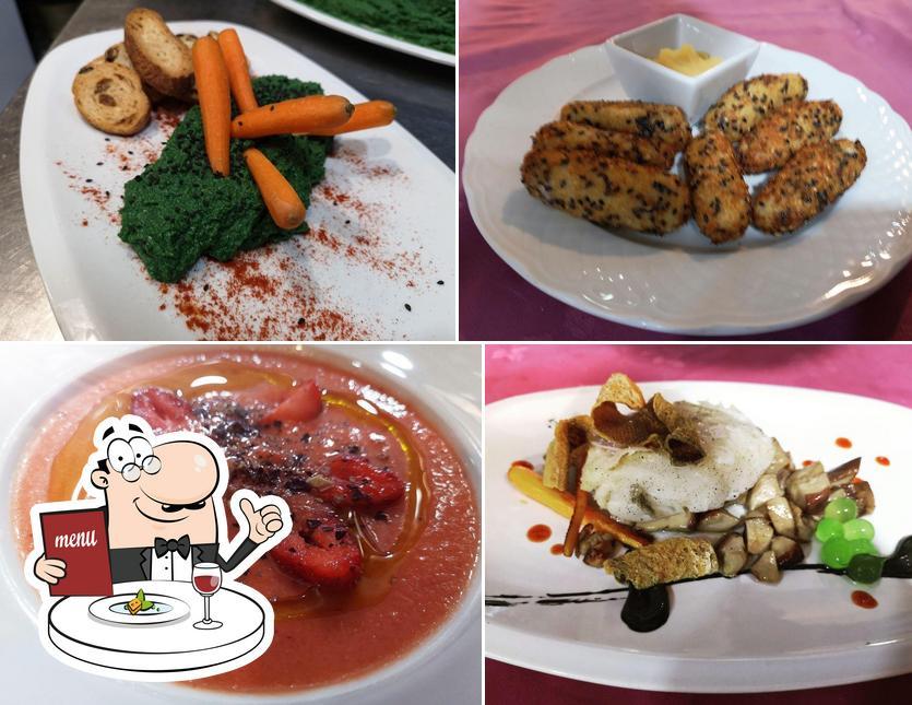 Platos en Restaurante La Almazara