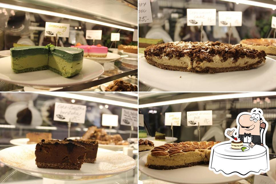 MyRaw Café offers a range of desserts