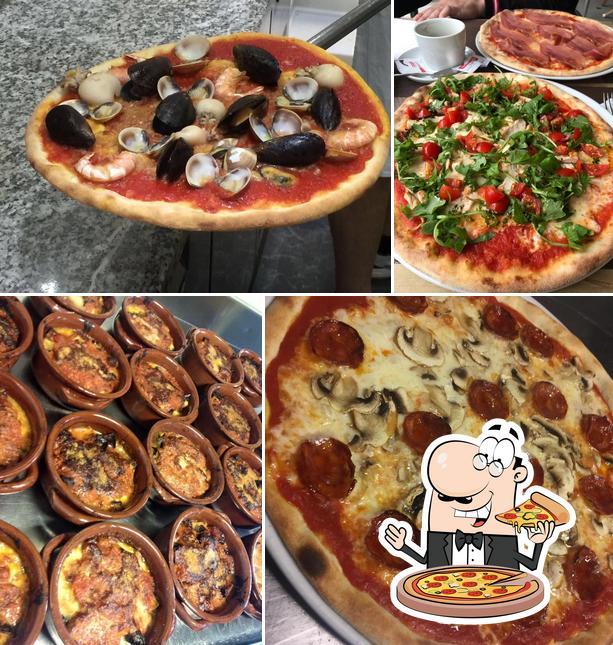Kostet eine Pizza bei Bar Domino