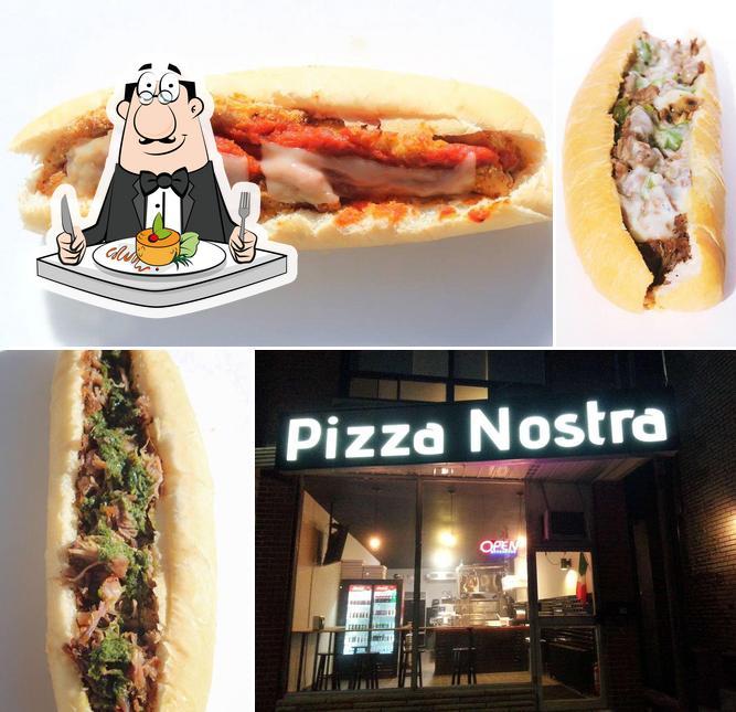 Meals at Pizza Nostra