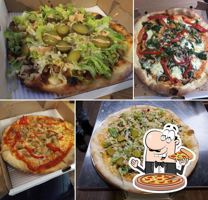 Try out pizza at Pizza Nostra