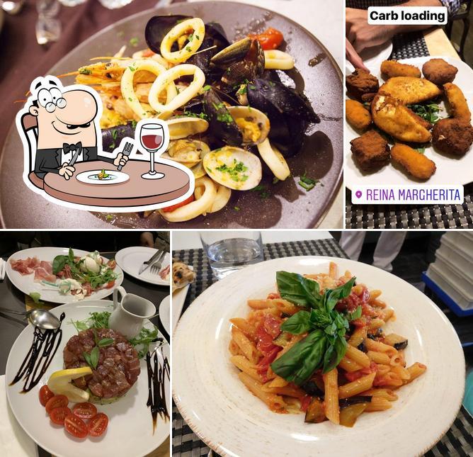 Еда в Reina Margherita