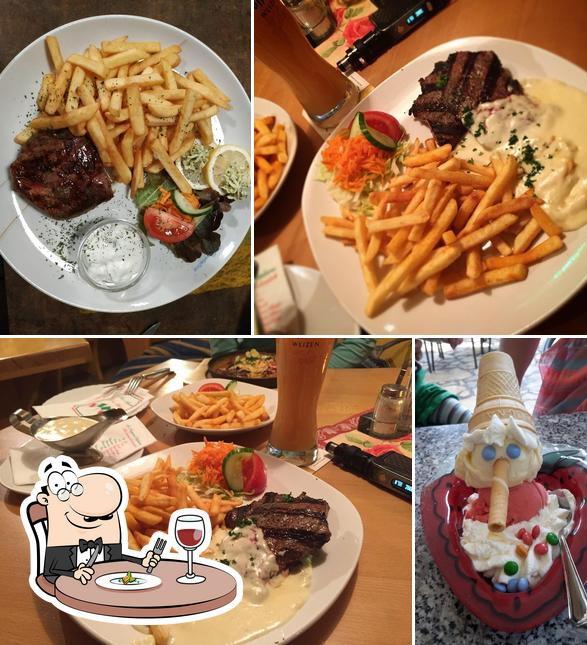 Comida en Restaurant La Romantica