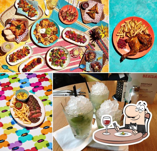 Food at Las Iguanas