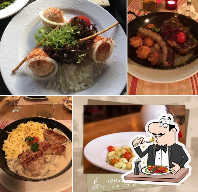 Meals at Würzburger Ratskeller