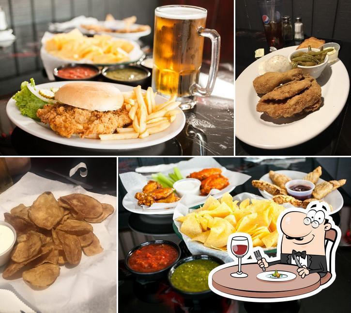 Food at Responders Grill & Bar