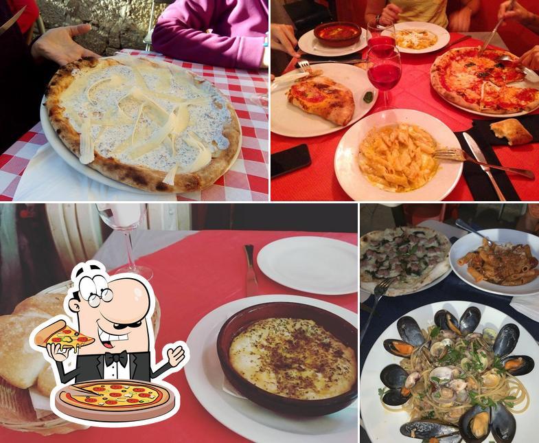 Elige una pizza en 081 Napoli