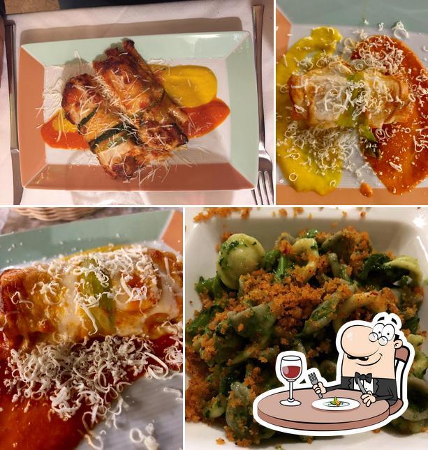 Food at Baccus