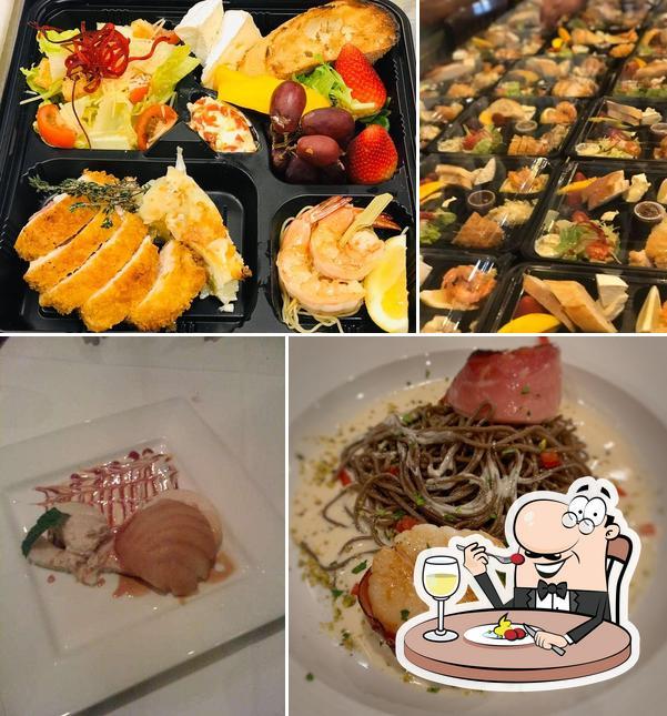 Meals at D & J Bistro