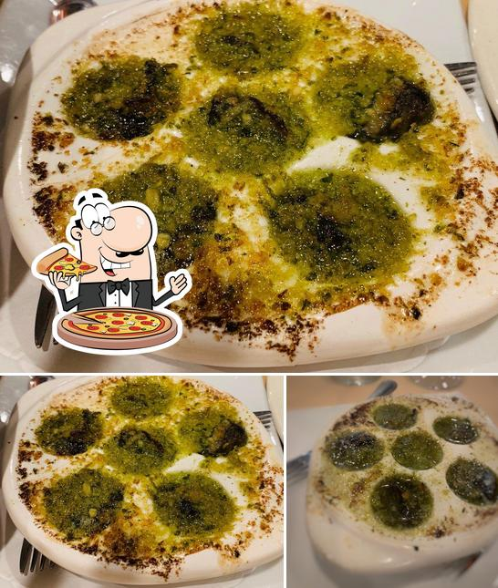 Try out pizza at D & J Bistro