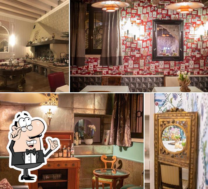Gli interni di Darì Ristorante & Enoteca