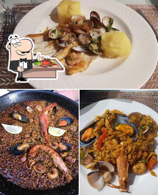 Prueba marisco en El Gosto del Gourmet