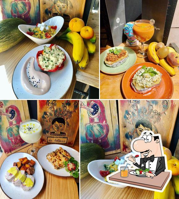 Food at Gloria Hoyos