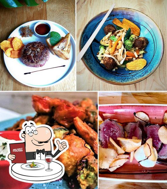Food at Restaurant gut