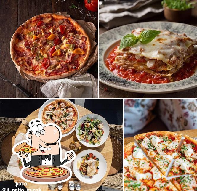 Pick pizza at Il Patio