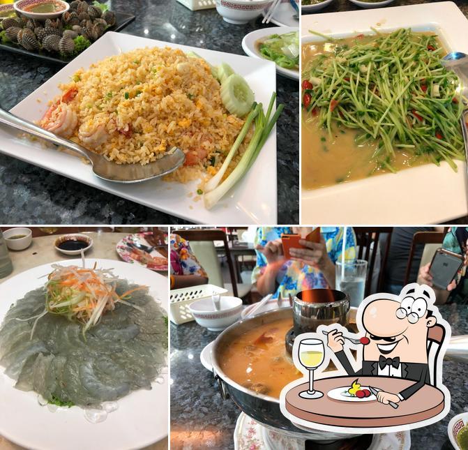 Food at Kuang Seafood Restaurant