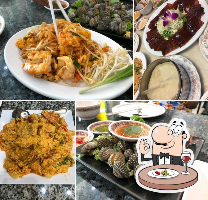 Meals at Kuang Seafood Restaurant