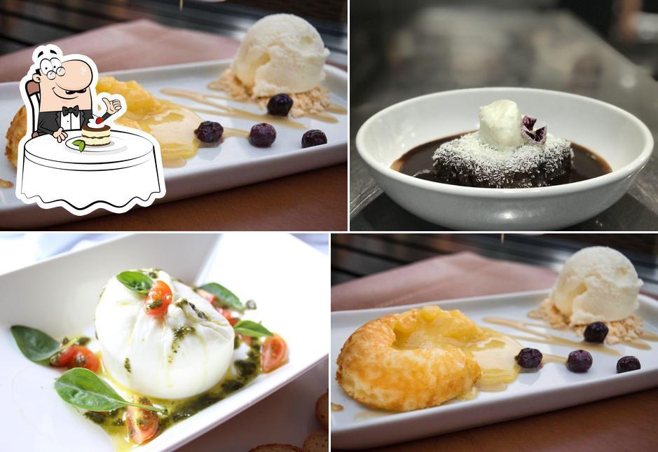 La Cucina Piemontese provê uma seleção de sobremesas