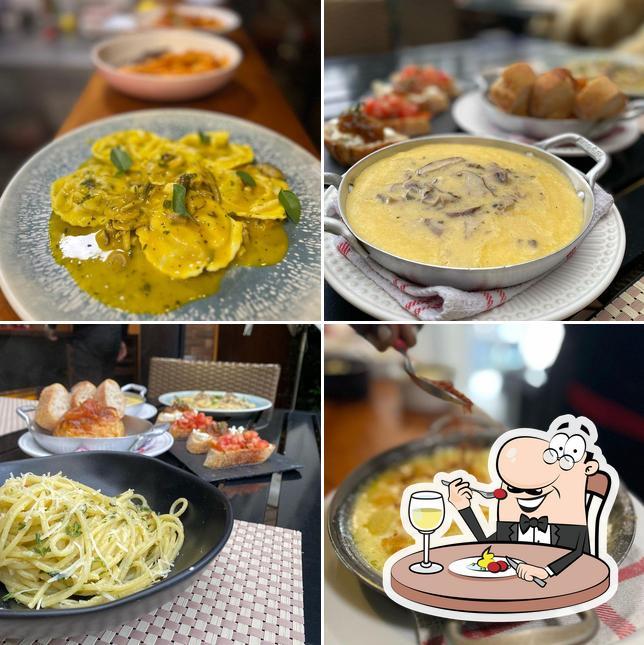 Comida em La Cucina Piemontese