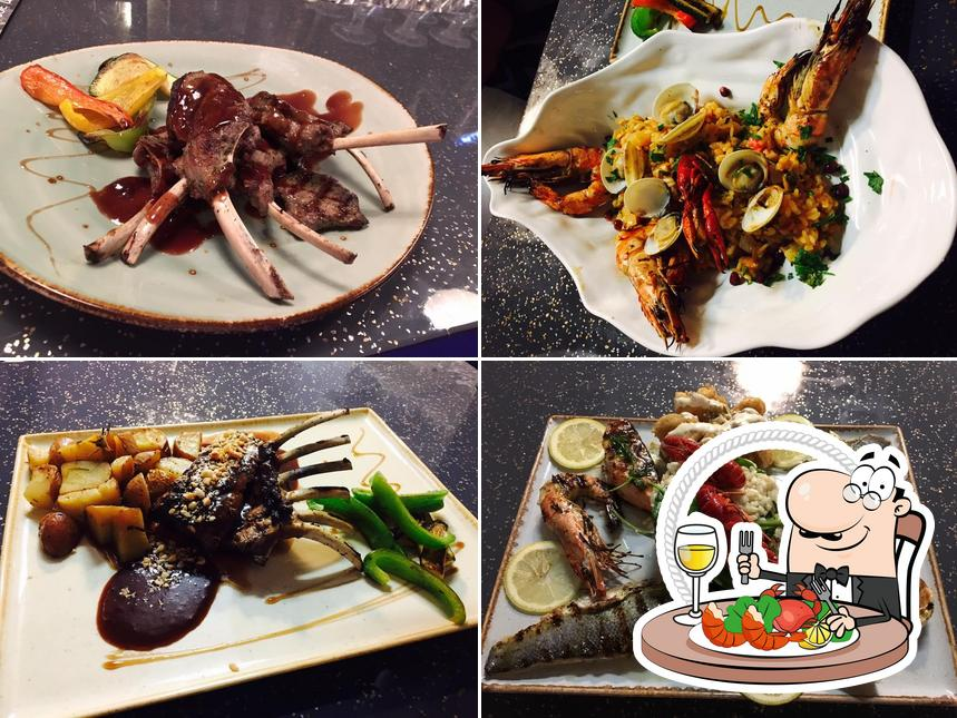 Try out seafood at La Oliva