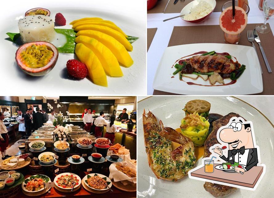 Food at Mangostin Asia