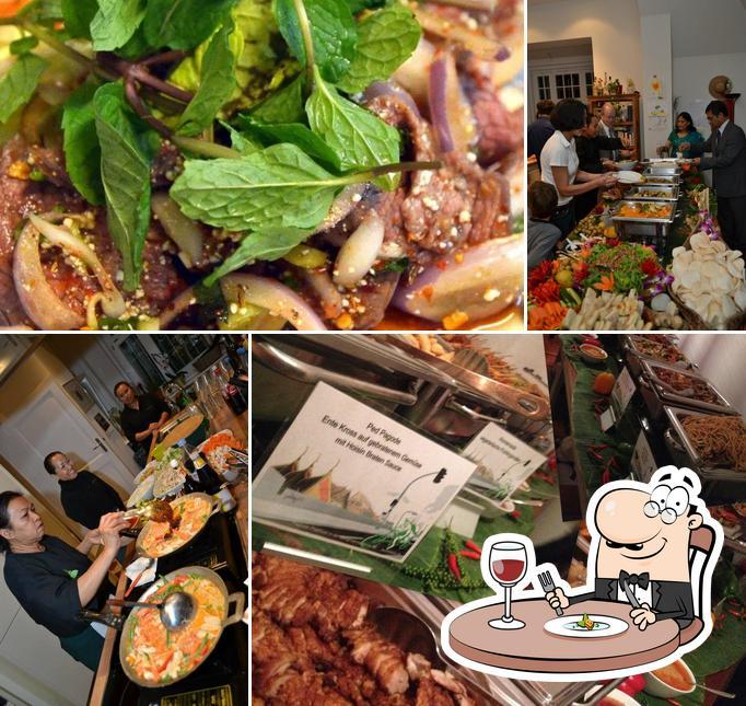 Nourriture à Pagode Thai Kitchen