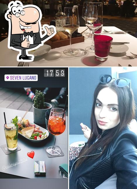 Seven Lugano - the restaurant image