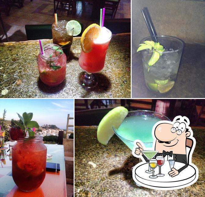 Sky-Line serves alcohol