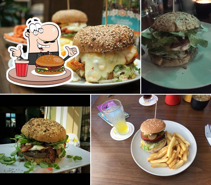 Try out a burger at Waikiki Burger