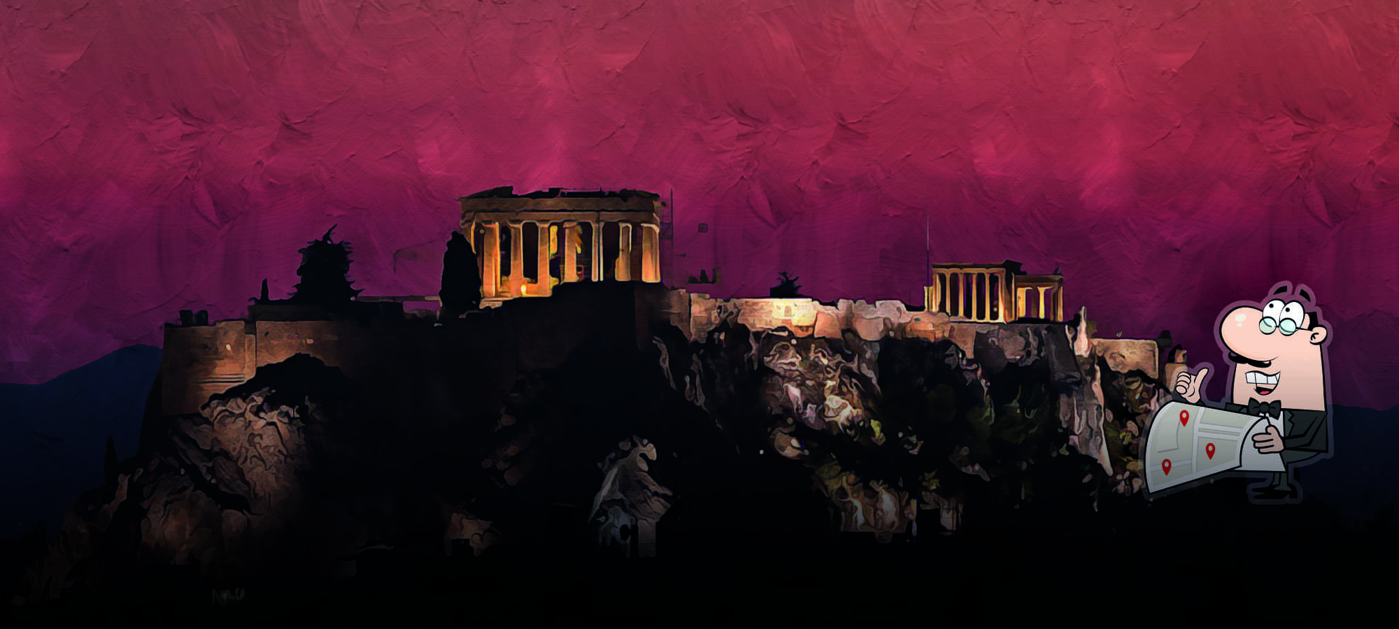 Athens: ancient city with tasty food